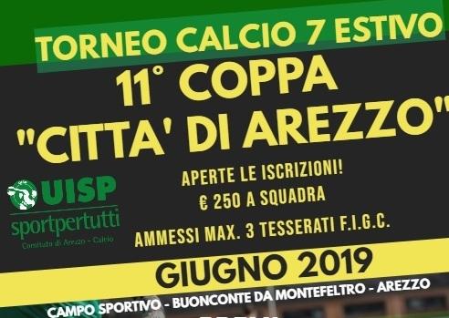 Arezzo Calcio Calendario.Torneo C 7 Coppa Citta Di Arezzo 2019 Gironi E Calendario