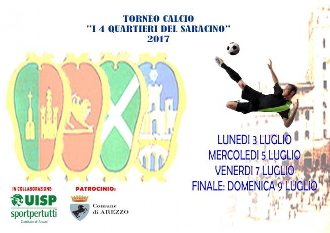 Arezzo Calcio Calendario.Torneo 4 Quartieri 2017 Calendario E Regolamento Lega
