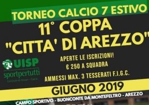 Calendario Torneo A 7 Squadre.Lega Calcio Uisp Arezzo